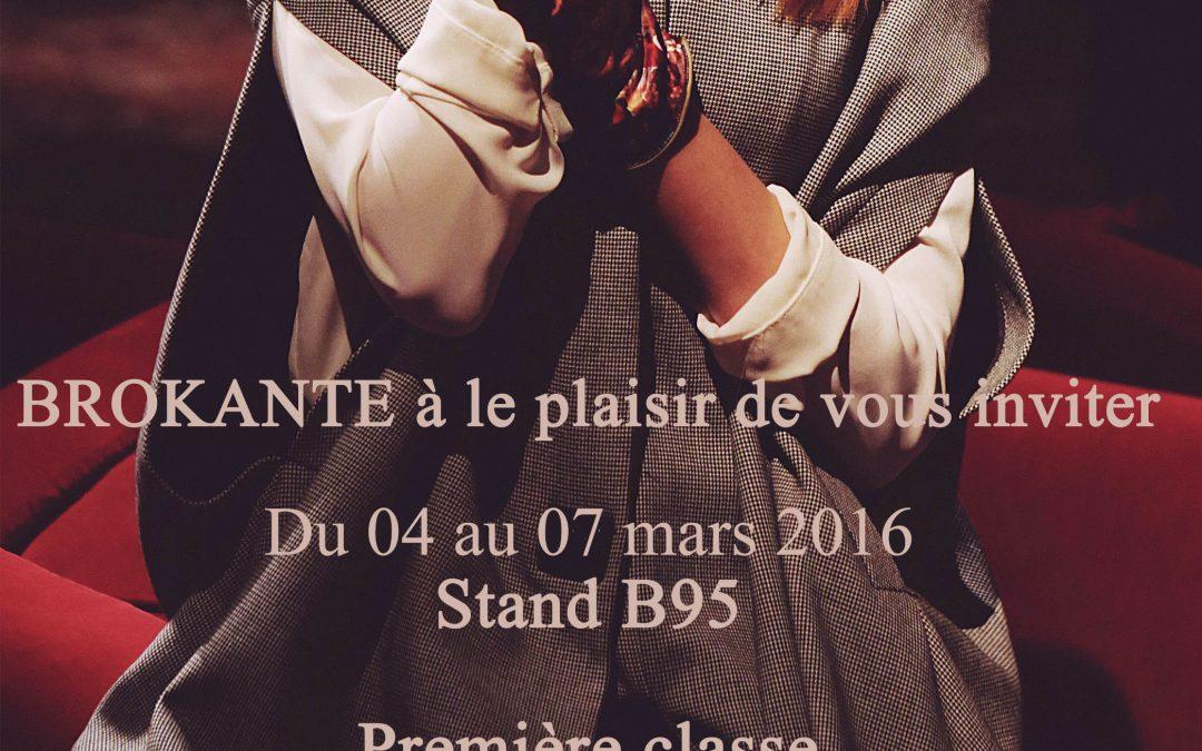 Brokante – salon Première Classe Tuileries mars 2016