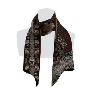 écharpe pour femme fleuri